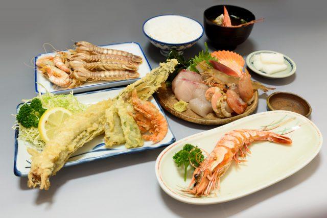 磯料理 2,500円(コース料理)