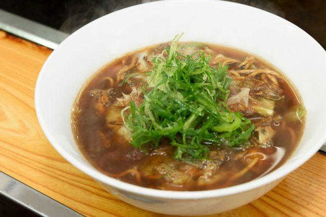スープ焼きそば(かき入) 950円