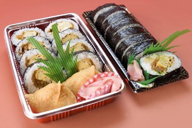 助六600円(税別)と巻き寿司500円(税別)