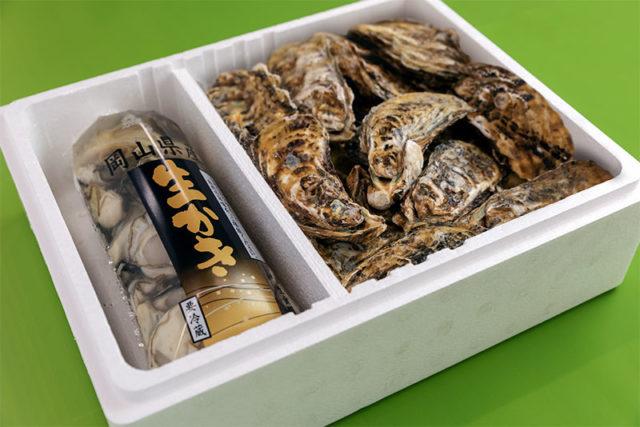 むき身生かきは、殺菌海水で洗浄した生食用牡蠣です。