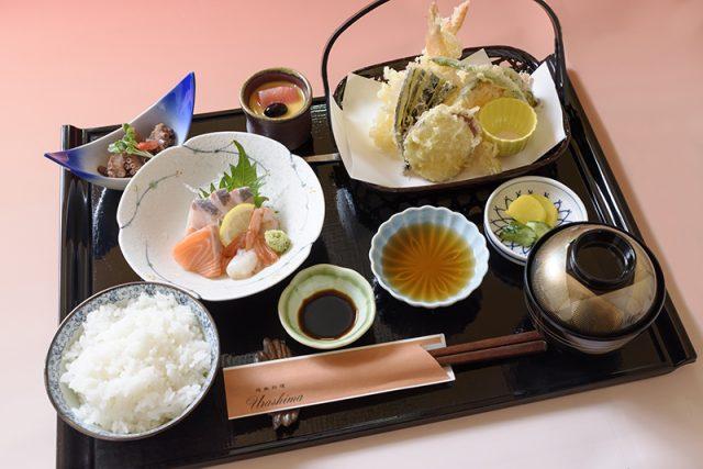刺身・天麩羅定食 1,800円